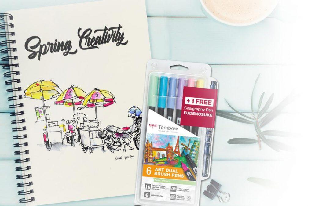 Kalligrafie: consumentenactie Tombow